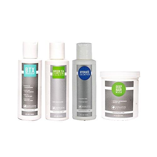 AMAZON KERATIN BTX Smoothing Treatment Kit (Small) - Set of 4