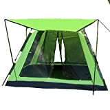 Outdoor-Zelt 3-4 Personen vollautomatische Ershiyiting Geschwindigkeit offenes Zelt Falten freies Zelt Regenproof Oxford Tuch Zelt UV-Schutz Zelt