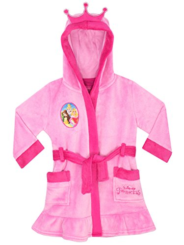 Disney Princess Girls Princess Dressing Gown Ages 18 Months To 10 Years