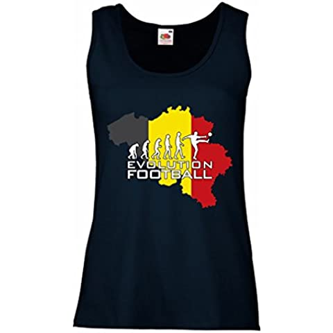 N4492P Camisetas sin mangas femenina Evolution Football - Germany