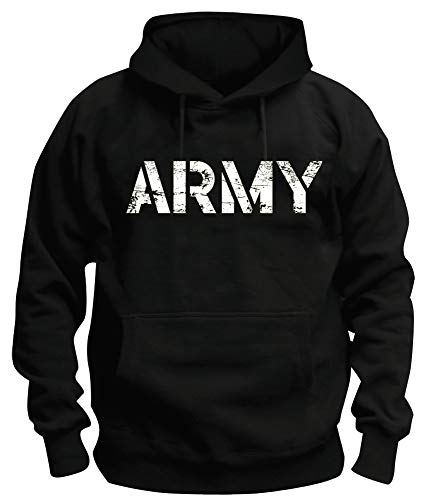 TShirt-People TSP US Army Kapuzen-Sweatshirt Herren M Black