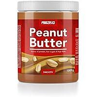 Prozis Peanut Butter 1kg - Deliciosa y de Textura Cremosa - Fuente Natural de Proteína -