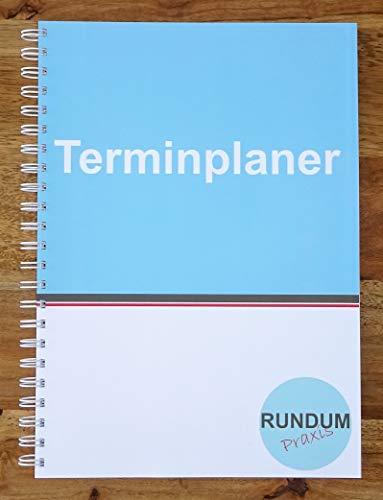 Terminplaner Praxisplaner Terminkalender Montag bis Samstag 2 Spalten 15 und 30 Minunten Takt A4 (Tag-planer Woche Für Eine)