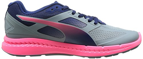 Puma Ignite women Running Shoes Fitness Jogging 188077 01 grey pink grau/pink