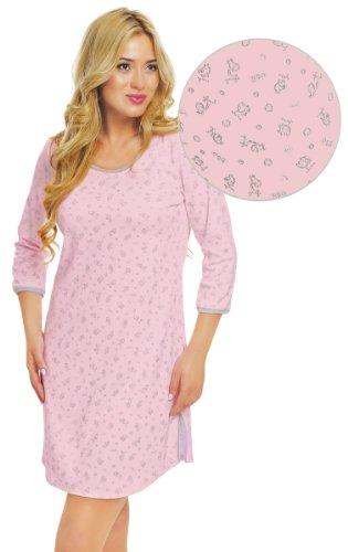Italian Fashion IF Chemise de Nuit Femme Hana 0111 Rose