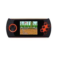 LMMET Giochi Elettronici Portatili,Console Portatili Bambini, Compleanno per Bambini Regalo,MD16 Simulator Console da gioco da 3 pollici SEGA16BT Palmare PVP PXP Game