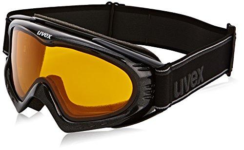 UVEX Skibrille F 2 Black Met, S1