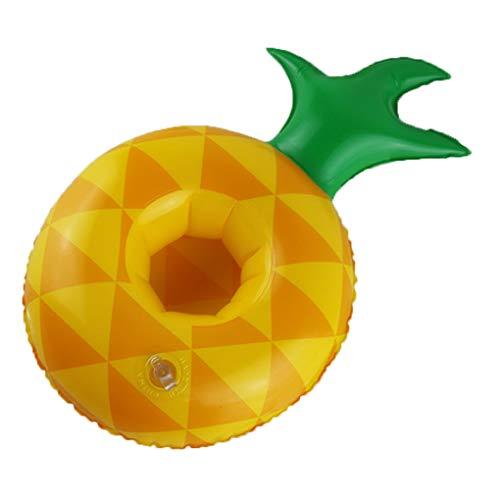 orm Inflatable Getränk Becherhalter Wassermelone Ananas Zitrone Schwimmfähiges Untersetzer ()