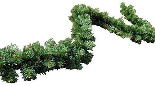 FKL Guirlande de Sapin de Noël Vert 300 cm/270 cm, Plastique, Vert, 160 Spitzen