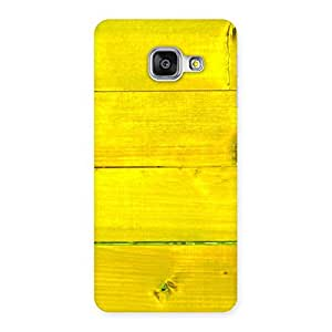 Yellow Wood Backyard Back Case Cover for Galaxy A3 2016