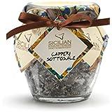 Handmade Sicilian Salt-Cured Capers - 130g Jar