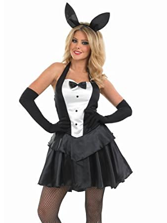 ladies sexy easter playboy bunny girl rabbit animal halloween fancy dress costume outfit uk 8 26 plus size uk 8 10 amazoncouk health personal care - Size 26 Halloween Costumes