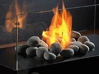 Guardate come ciottoli grigio: grande decorazione per l' intero appartamento. high-decorative pietre in pebble design sarà sempre una buona decorazione per esempio per incendio o tischkamine. Il tocco finale per il tuo tavolo Bioetanolo Fuoco...