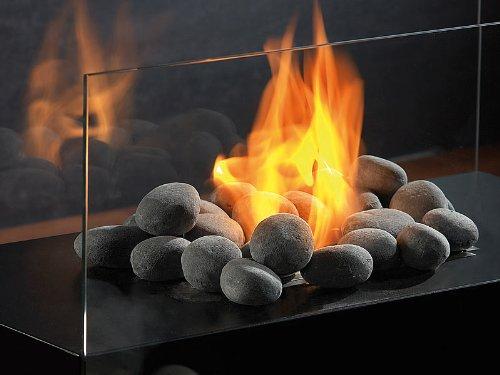 Carlo Milano–Piedra para etanol Chimenea: Deko de piedras para chimenea de bioetanol...