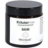 Weinlaub Salbe 100 ml • Hautbalsam mit Rosskastanie, Rotem Weinlaub, Ringelblume, Jojobaöl und Sheabutter • Balsam... preisvergleich bei billige-tabletten.eu