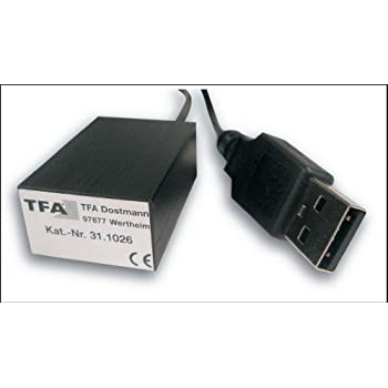 TFA PC-Thermometer USB-Temp inklusive Software: Amazon.de: Computer ...