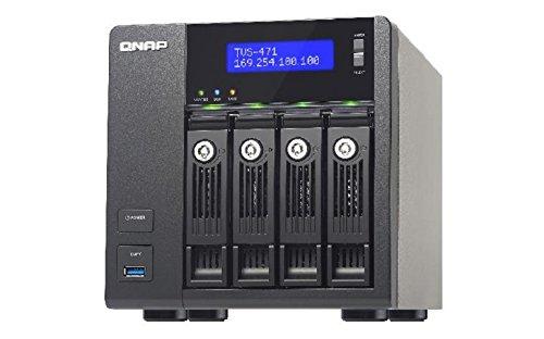 QNAP-TVS-471-I3-4G 4-Bay NAS Desktop Gehäuse mit 4GB RAM