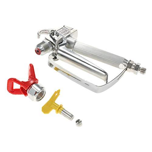 Spritzpistole Airless-Farbspritzgerät Compact 3600 Psi Professionelle, Handliche,