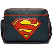 Superman: Bolso con símbolo - Azul