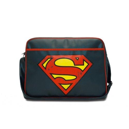 Logoshirt Sac bandoulire DC - SUPERMAN medium bleu