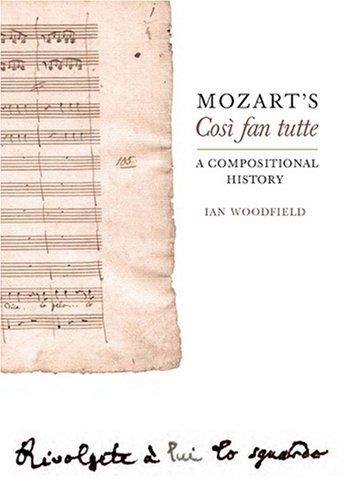 Mozart's Cosi Fan Tutte: A Compositional History