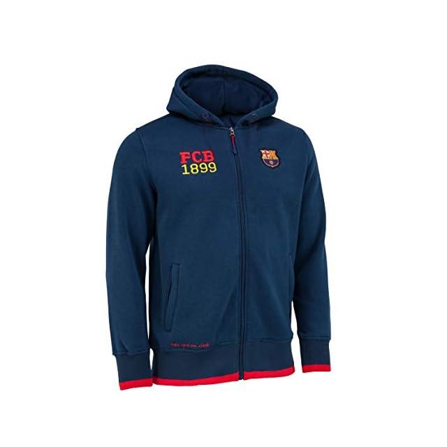 Collection Officielle Taille Homme Fc Barcelone Veste Sweat Capuche Barca