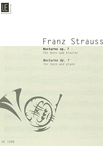 Nocturno Op 7. Horn, Klavier