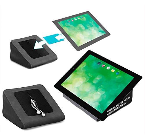 reboon Tablet Kissen für das Blaupunkt Endeavour 1000 QC - ideale iPad Halterung, Tablet Halter, eBook-Reader Halter für Bett & Couch