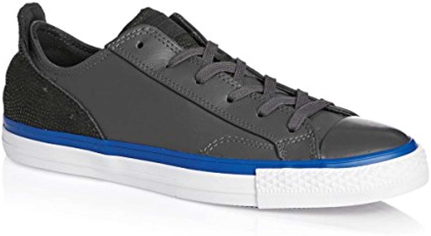 CONVERSE ALL STAR CHUCKS OX LEDER GRAU GREY SCHUHE 148644C GR:40
