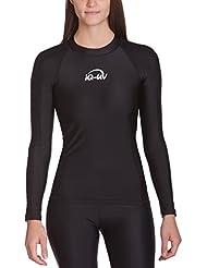 IQ-company uV 300 slim fit t-shirt de vêtements à manches longues pour homme, violet, 6661222393–36 xS