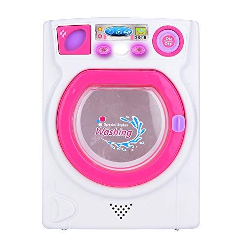 Lavadora de Juguetes, Juego de Juegos de lavandería en Miniatura, Juego de Juguetes de Juegos para niños pequeños para niños pequeños Niñas
