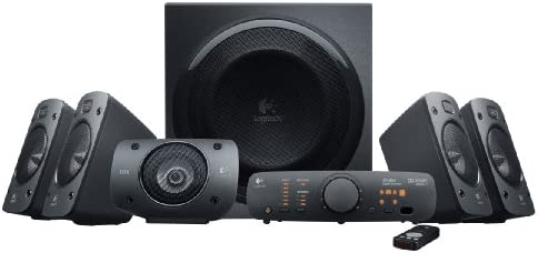 Logitech Z-906 5.1-Ch Home Theater Speakers