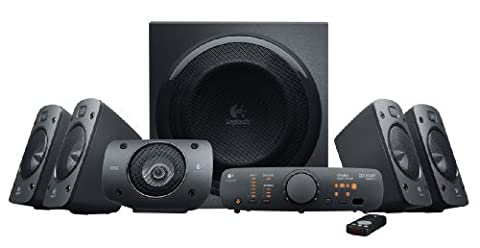 Logitech Z906 Stereo Speakers 3D 5.1 Dolby Surround Sound, 1000 W