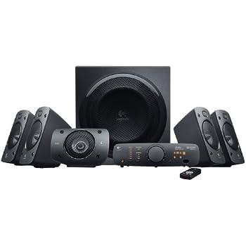 Logitech Z906 Stereo Speakers 3D 5.1 Dolby Surround Sound, 1000 W