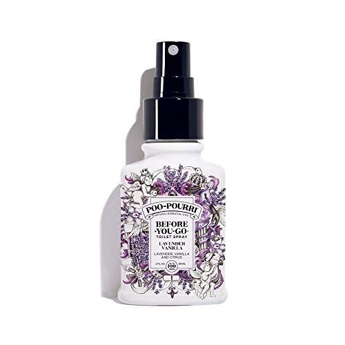 Poo~Pourri - Lavendel-Vanille Vor-Sie-Geht Toilette-Spray-Lavendel, Vanille und Zitrusfrucht - 2 Unze. -