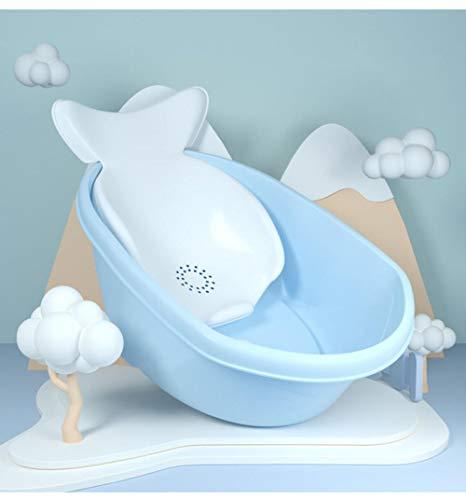 vaschetta bagnetto gonfiabile,Vasca da bagno per bambini spessa, con un supporto da bagno, può sedersi e sdraiarsi su un antiscivolo