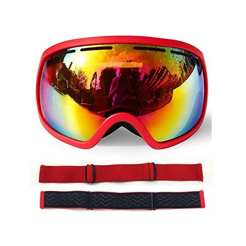 MaxAst Sonnenbrille Brille Motorrad Winddicht Unisex Schutzbrille Winddicht Rot