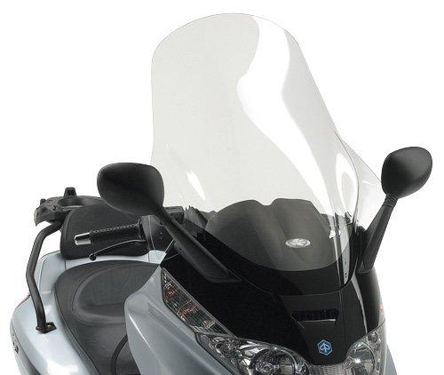 Windschutzscheibe transparent 80 x 60 cm (H x L) Kappa KD500ST Piaggio X8 125-150-200-250-400 (04 > 10) Piaggio X-Evo 125-250-400 (07 > 11) X8