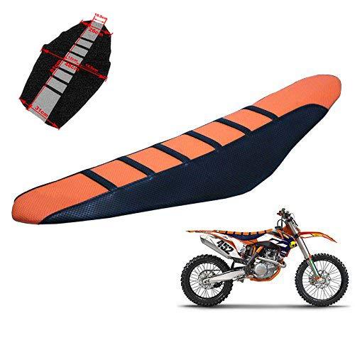 Housse de siège souple en caoutchouc Pro Griffe Pro pour KTM tout Dirt moto Orange moto