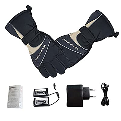 Beheizte Handschuhe, Samber Wiederaufladbare Beheizbare Handschuhe mit Wärmere Liner für Outdoor Klettern Wandern Radfahren Snowboarden von Samber - Outdoor Shop