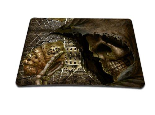 Luxburg® Design Mousepad Mausunterlage Mauspad, Motiv: Spiel mit Tod