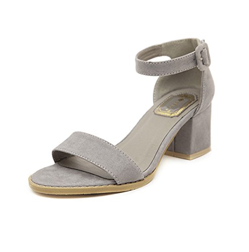 Bequeme Blockabsatz Antirutsch Mit High Sandalen Damen Heels Fashion BwIaWP0xqU