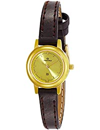 Maxima Analog Gold Dial Women's Watch - 05191LMLY