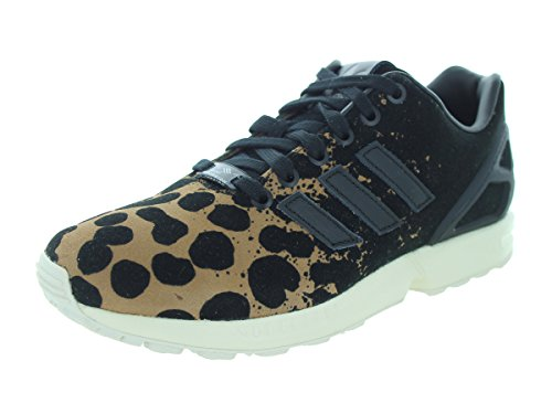Adidas Zx Flux (nero / bianco) Formato 6 Us Black/Black/Cardbo