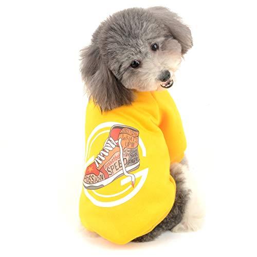 , Fleece, Kapuzenpullover, Winter-Sweatshirt, Welpen, Sport, Chihuahua, warme Haustierkleidung, Jacke, Mädchen Poloshirt für kleine Hunde und Katzen ()