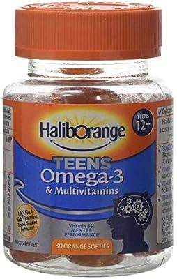 Haliborange Teens Omega-3 and Multivitamins Orange 30 Softies from Haliborange
