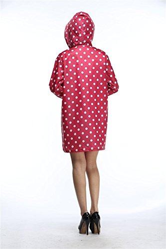 Drasawee - Manteau imperméable - Femme red