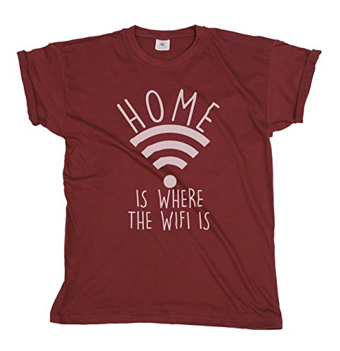 home-is-where-the-wifi-is-mens-ladies-internet-fashion-slogan-unisex-fit-t-shirt-medium