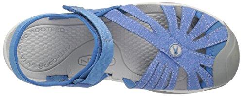 Keen Damen Rose Sandal Trekking-& Wanderschuhe Cendre Blue/Blue Bell