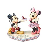 Disney Tradition - 4055436 - Figurine - Mickey Minnie - La Déclaration - Moment Magique